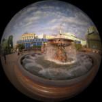 Фонтаны в сквере Большого театра